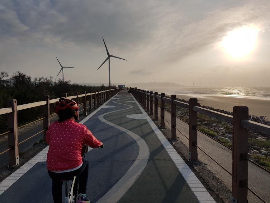 苗栗綠光海風自行車道